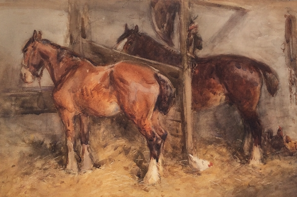 In the Stable.J.Atkinson