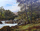 Robert Gallon: On the Lledr, North Wales