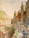 Charles Gregory Painting: Staithes