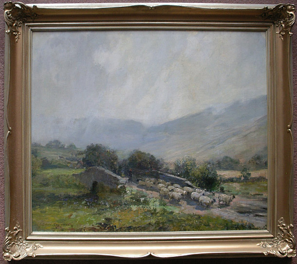 Archibald Kay Painting: The Highland Drover