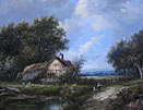 Joseph Thors: Old Midlands cottage