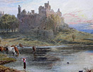 Miles Birket Foster painting: Linlithgow Palace