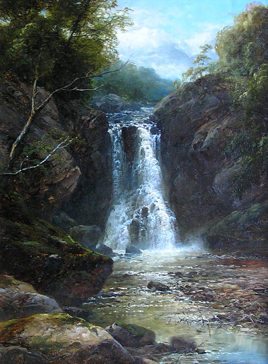 John Brandon Smith 1848 1884 Falling Foss Whitby