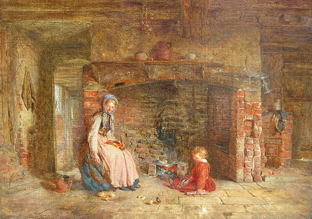 Alfred Provis: By the Hearth