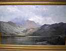 Alfred de Breanski Snr painting for sale: Cader Idris