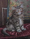 Wilson Hepple Cat Painting