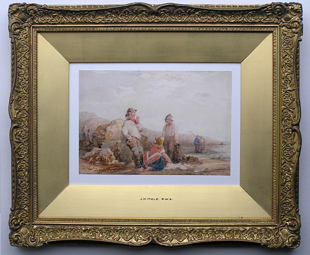 John Henry Mole: Fisherfolk at the Coast