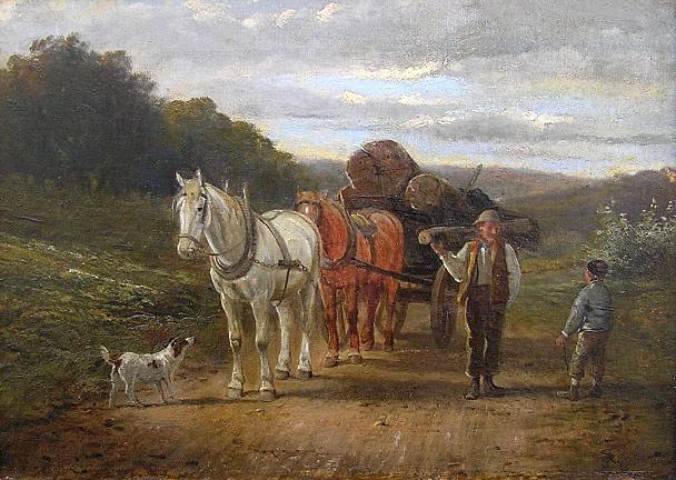 Samuel Joseph Clark 1834 1912 Homeward Bound For Sale