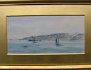 Frank Wood marine painting: The Anchorage