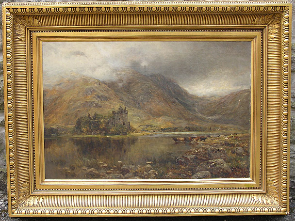 Still Pictures Are All Very Fine And >> Scottish School (19th Century), Kilchurn Castle, Loch Awe for sale