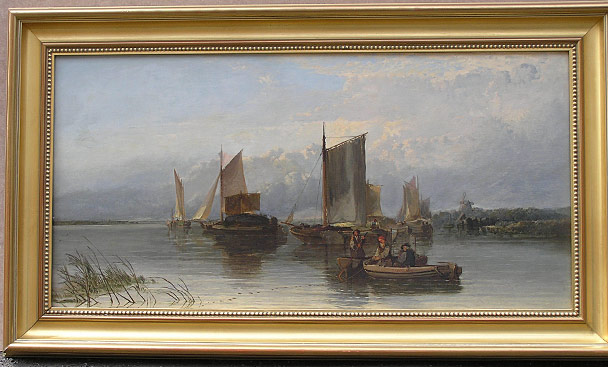 Edward Charles  Williams painting