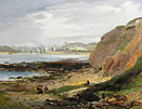 John Wilson Carmichael painting - View to Mouth of Tyne