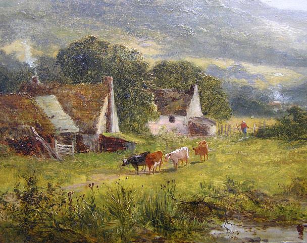 James Peel 1811 1906 Welsh Landscape For Sale