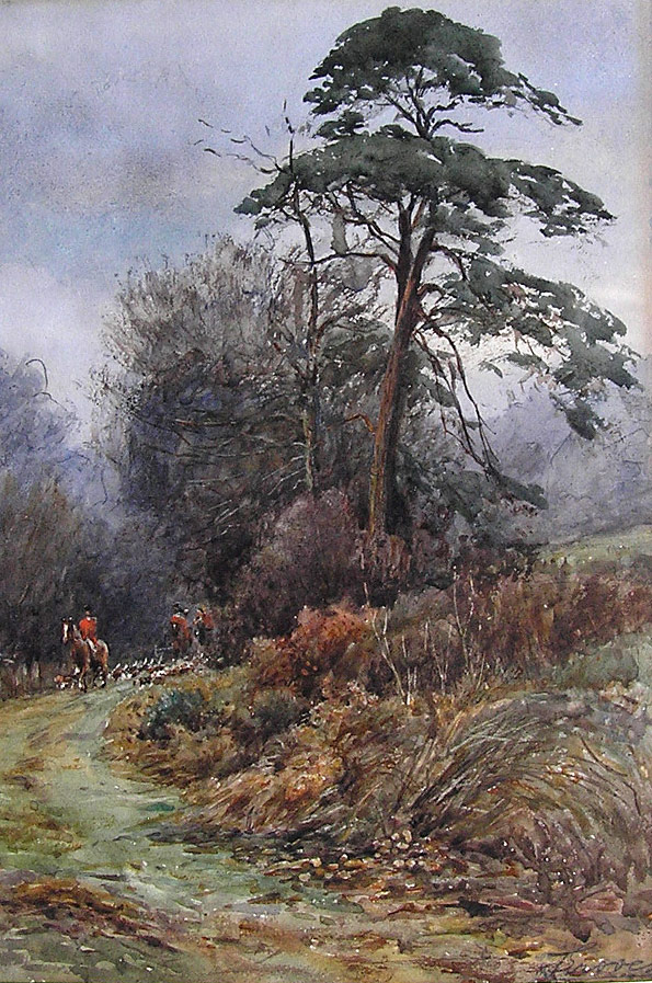 Groves Painting, The Hunt