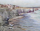 Thomas Swift Hutton: Seaton Sluice with Blyth