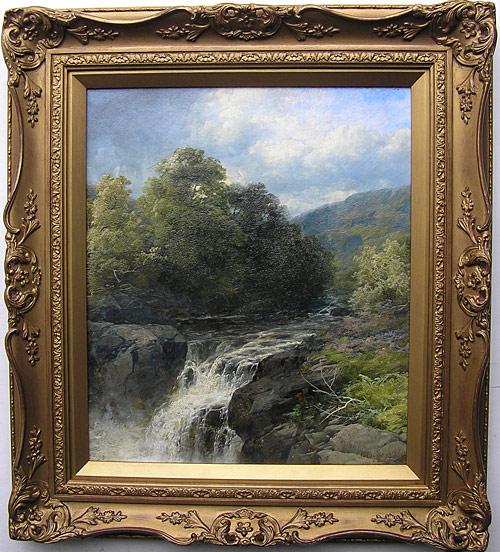 John Brandon Smith (1848-1884), River Falls for sale | 500 x 552 jpeg 122kB