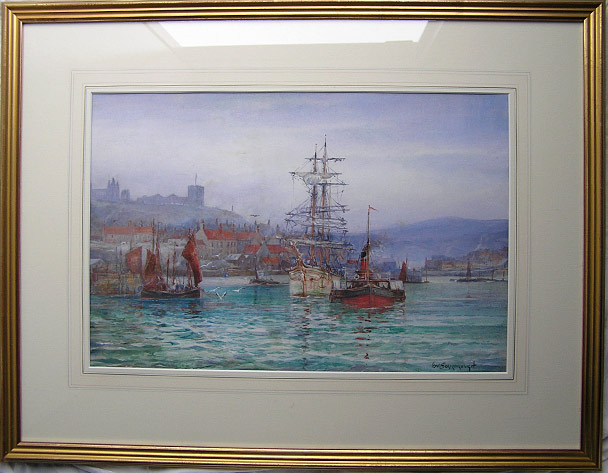 F W Scarborough painting