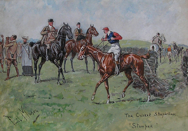 George Finch Mason: Cricket  Steeplechase