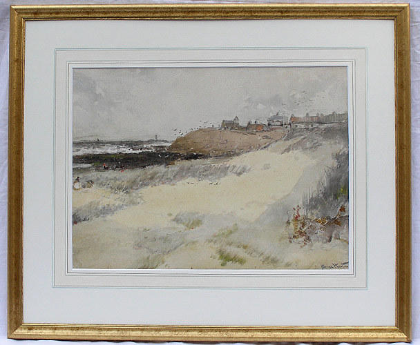 George horton painting tynemouth