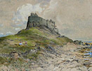 ts hutton painting: holy island