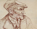 Norman Cornish: The flat cap