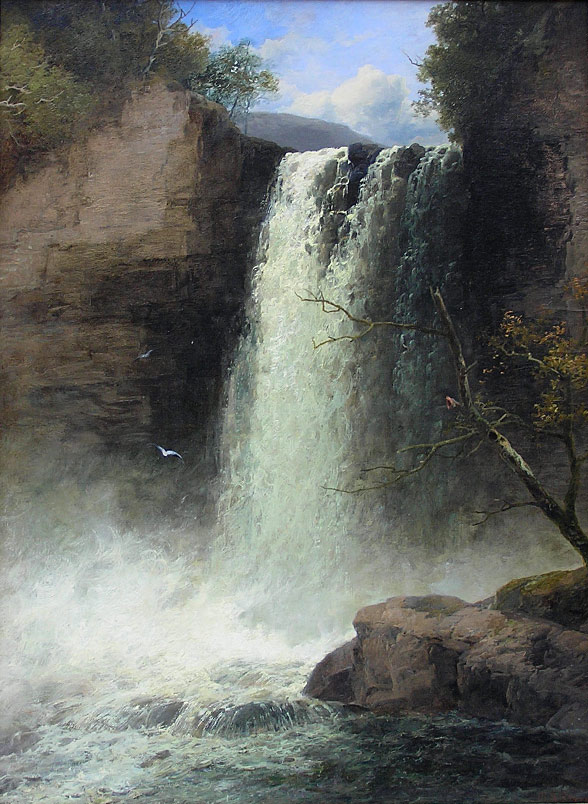 John Brandon Smith: High Force Waterfall