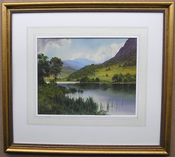 Edward H Thompson watercolour painting