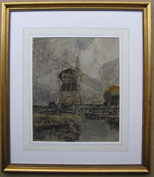 George Horton painting: Windmill