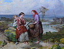 Isaac Henzell oil painting: Shrimpers