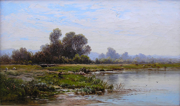 Alfred Walter Williams painting