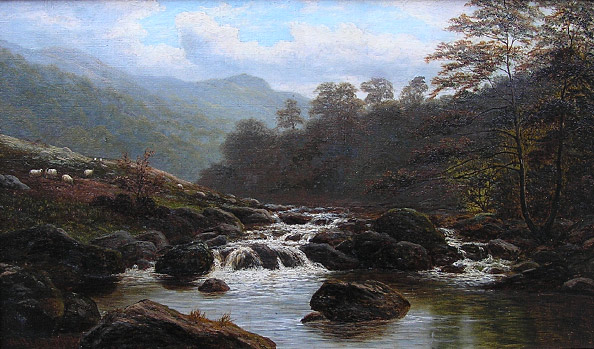 William Mellor painting: Grasmere