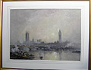 Frank Wasley painting: London