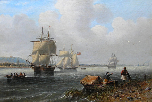 John wilson Carmichael: Mouth of the Thames