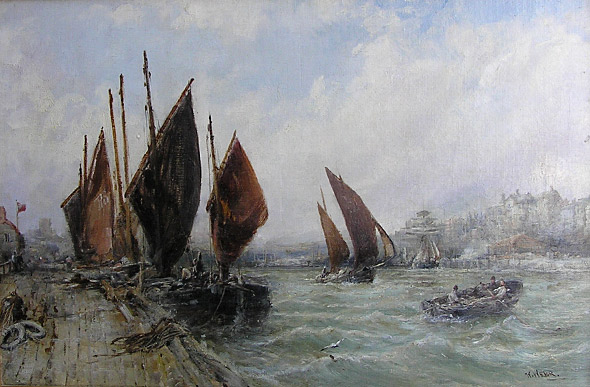 William Edward Webb: Peel Harbour, Isle of Man