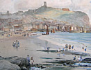 TS Hutton painting - Scarborough