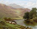 Walter J Watson: On the Lledr, Wales