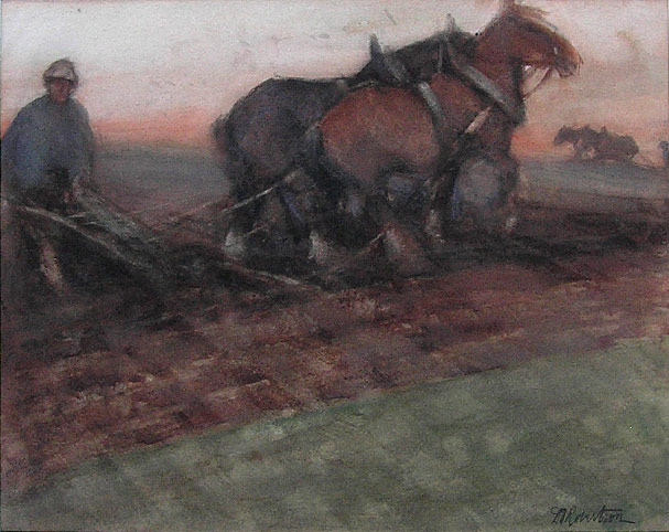 DT Robertson - Ploughing