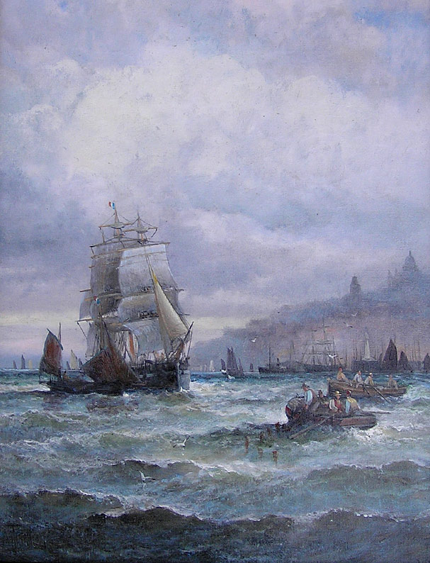 William Thornley: Off Boulogne