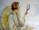 Charles MacIver Grierson painting: 1920s lady