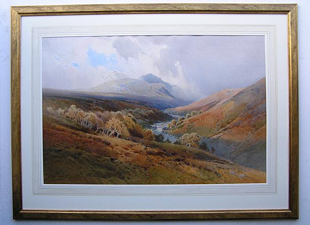 Arthur Tucker 1864 1929 Glen Artney Perthshire For Sale
