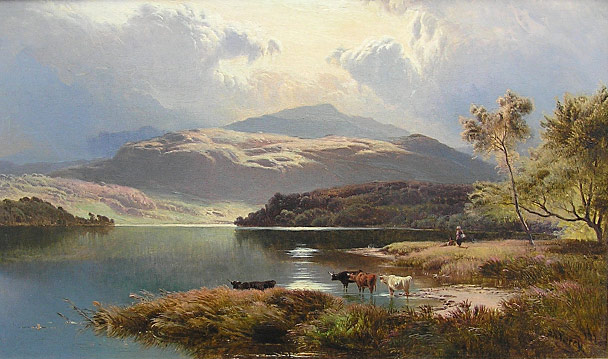 Sidney Richard Percy landscape painting