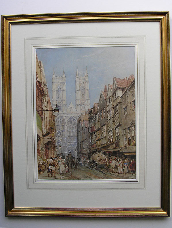 George Sydney Shepherd watercolour