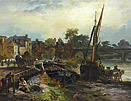 William Harding Collingwood Smith: Thames at Barnes
