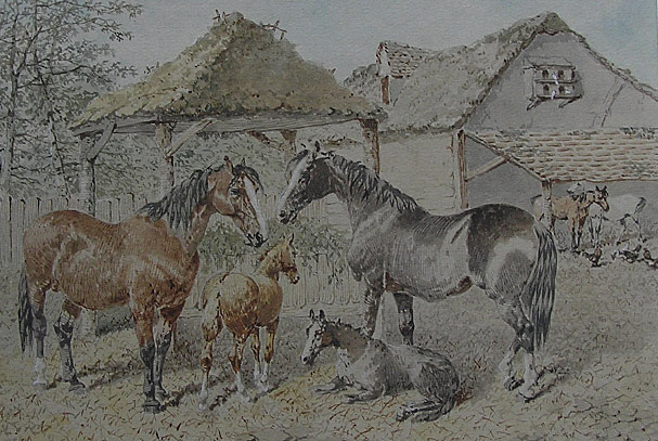 JF Herring: Horses and Foals