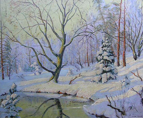 Victor Elford: Winter