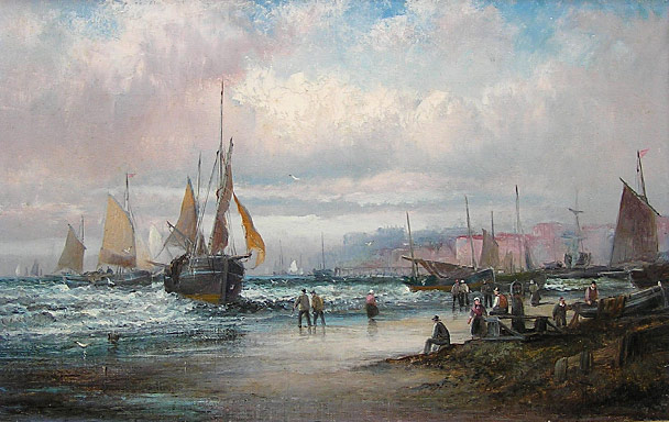 William Thornley marine painting II