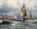 William Thornley marine painting