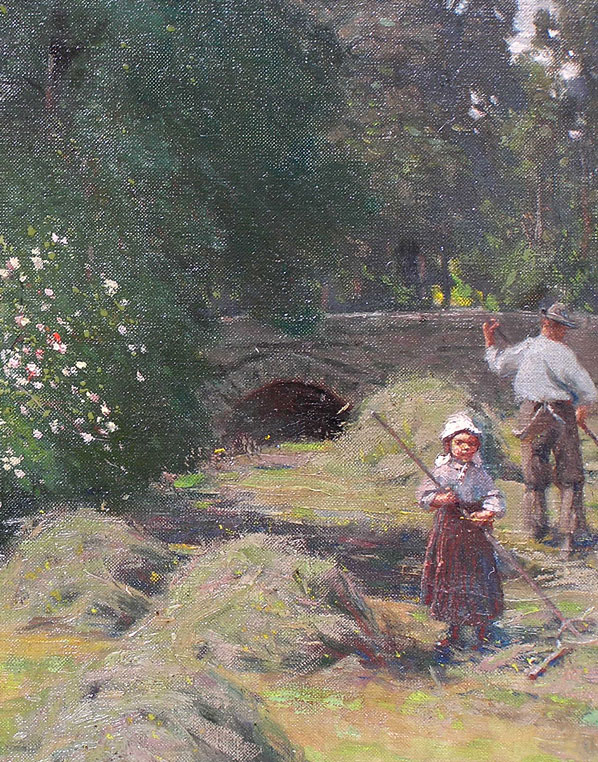 Alfred Heaton Cooper Oil painting