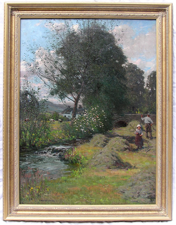 Alfred Heaton Cooper original oil
