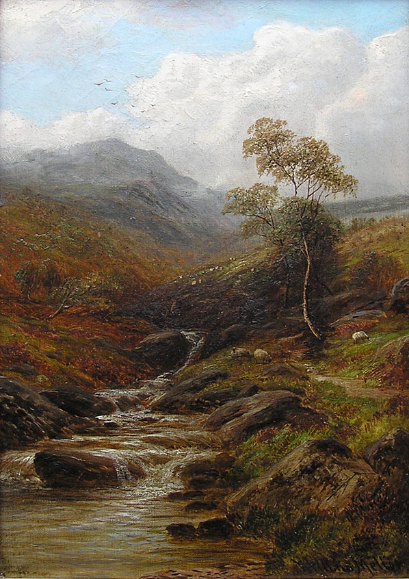 William Mellor painting